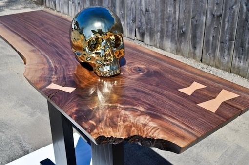 Custom Made Walnut Hall Table