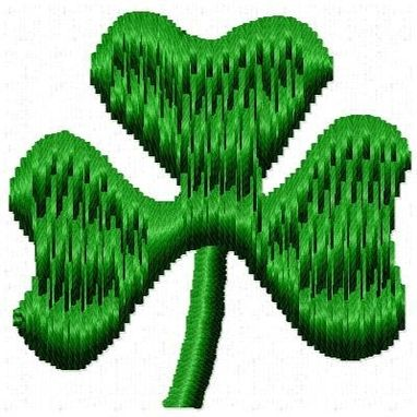 Custom Made Shamrock Embroidery Design