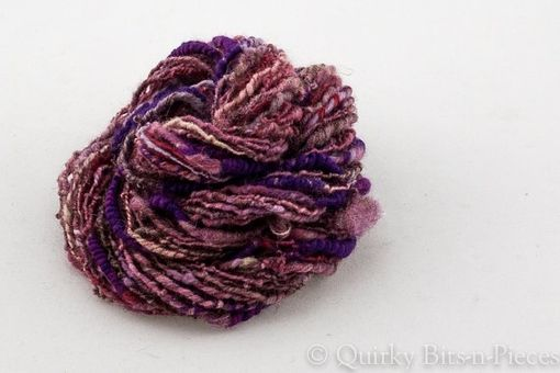 Custom Made Wisteria Art Yarn