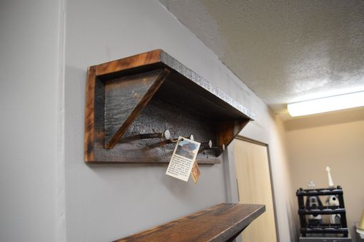 Custom Made Barn Wood Coat Rack