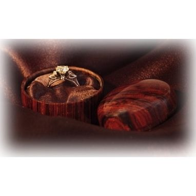 Custom Made Exotic Engagement Ring Boxs
