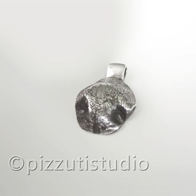 Custom Made Custom Silver Dog Nose Pendant