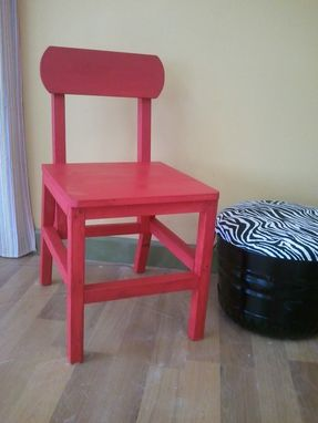 Custom Made Small Dining/Side Chair