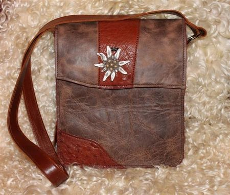 Custom Made Leather Messenger, Laptop, Tablet, Or Ipad Bag