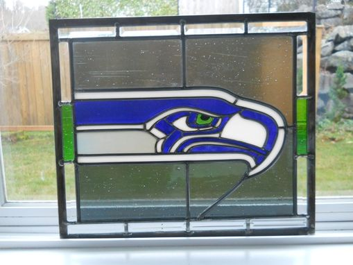 Custom Made Seattle Seahawks Panel For Cystic Fibrosis