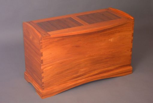 Custom Made Dovetailed Mahogany Chest