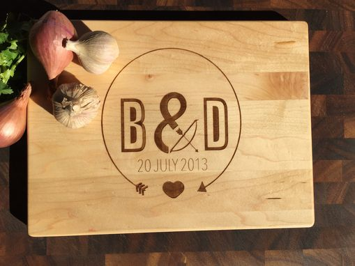 Custom Made Custom Personalized Engraving Cutting Board
