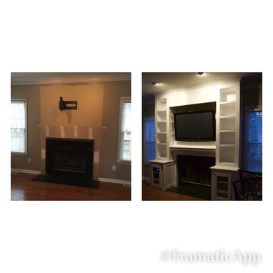 Custom Made Custom Built-Ins