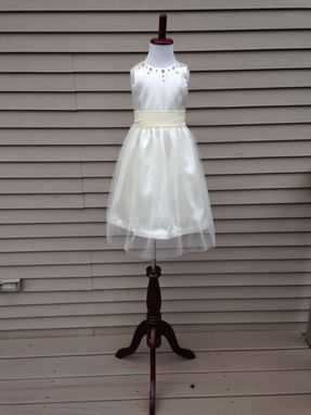 Custom Made Flower Girl/Litttie Bride/Communion Custom  Dress For Any Occasion Handmade In The Usa