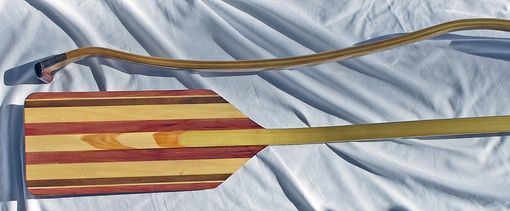 Custom Made The Wave - Ergonomic Canoe Paddle