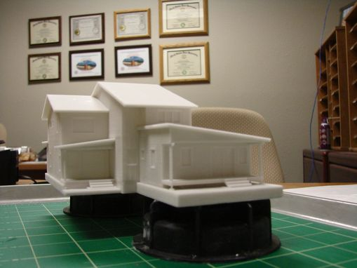 Custom Made Architectural Massing Models