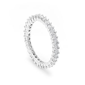 Custom Made Platinum Diamond Eternity Ring, Promise Ring, Forever Ring