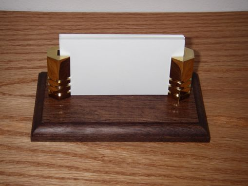 Custom Made Executive Business Card Holder