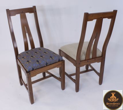 Custom Made Greene And Greene Dining Room Chairs