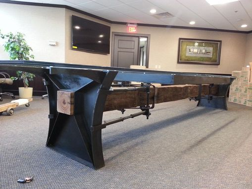 Custom Made Industrial Conference Table