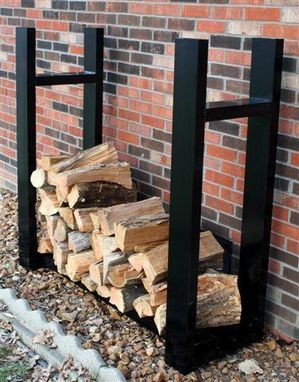 Custom Made Firewood Rack