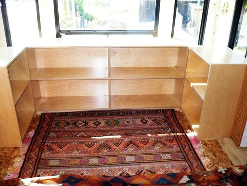 Custom Made Custom Desk And Bookcases