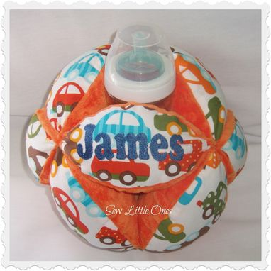 Custom Made Small Baby Bottle Holder Ball