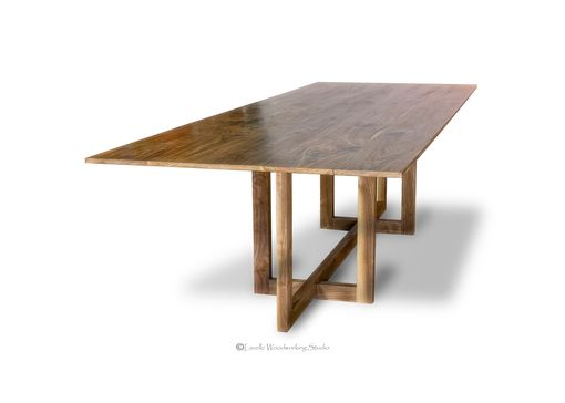 Custom Made Andreen Dinning Table - Modern Style Base
