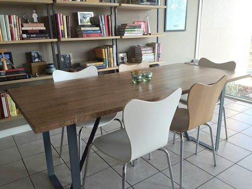 Custom Made Modern Table With Leaf