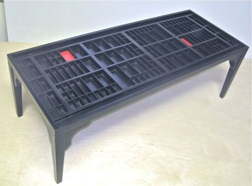 Custom Made Black Coffee Table