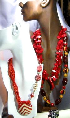 Custom Made Vp's Jewelry Beaded Necklaces