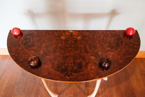 Custom Made Demi Lune Table