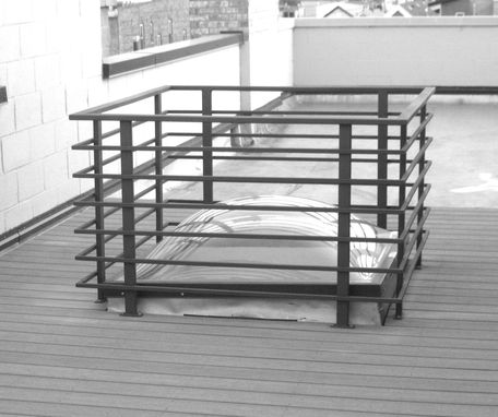 Custom Made Exterior Roofdeck Railing