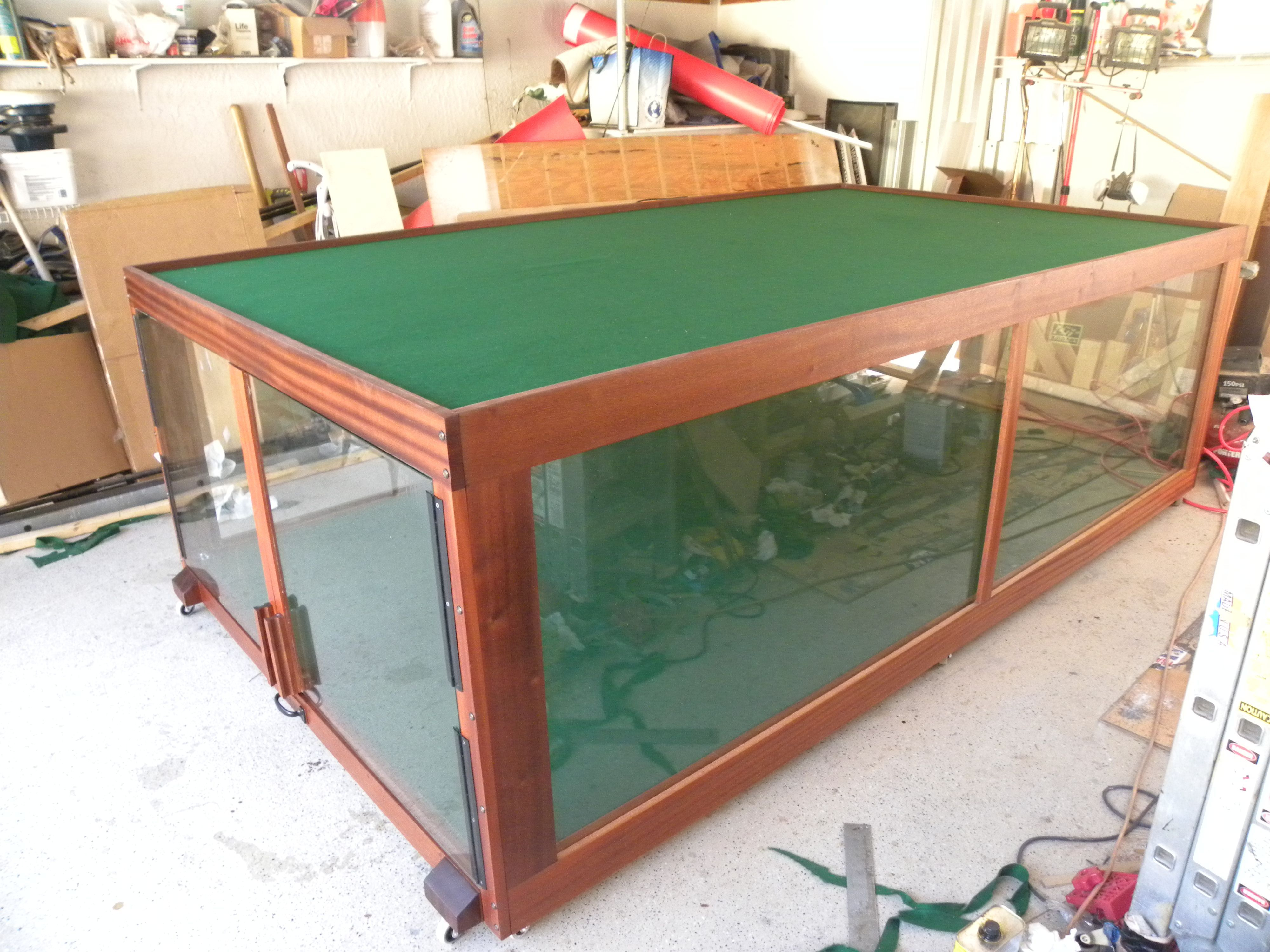 Hand Crafted Display Case by Design47   CustomMade com