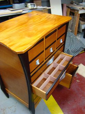 Custom Made Fine Hosiery Chest