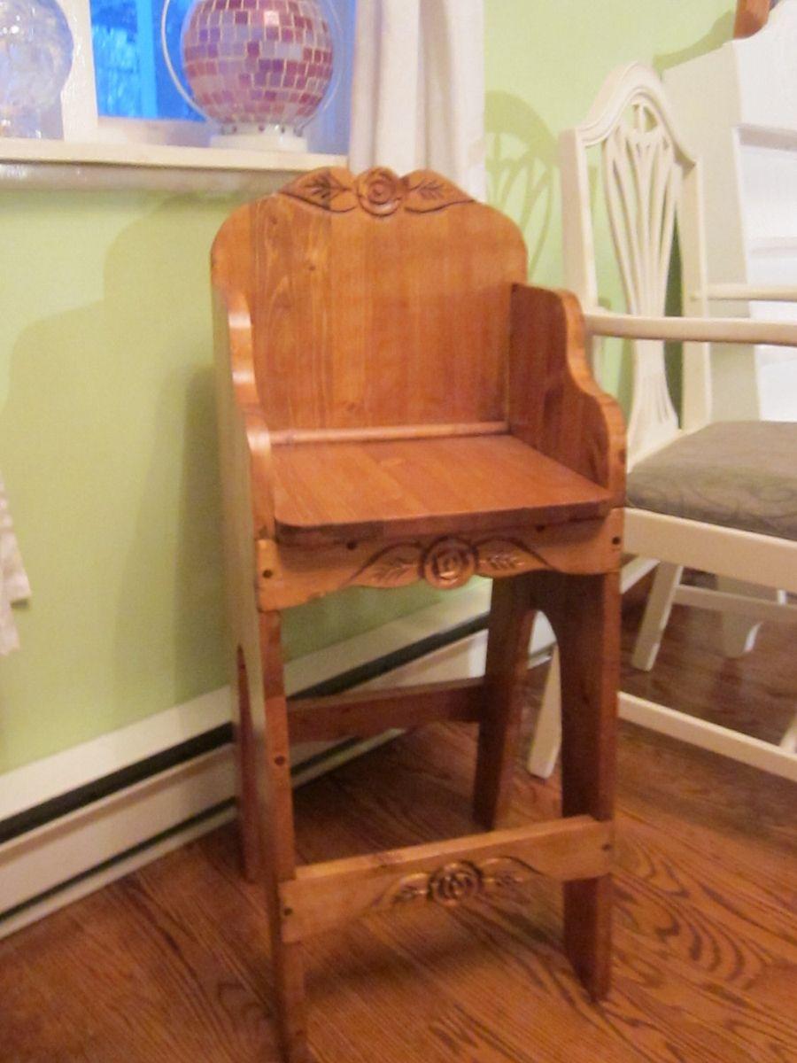 Custom Made High Chair For Older Children