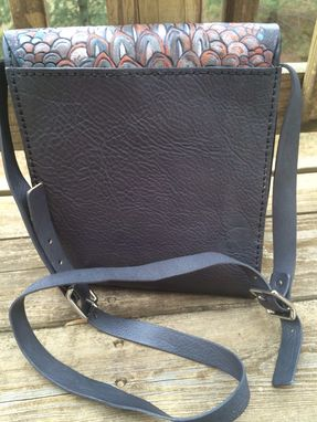 Custom Made The Dragon Scale Messenger Bag