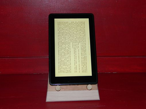 Custom Made Cherry Maple Kindle Stand