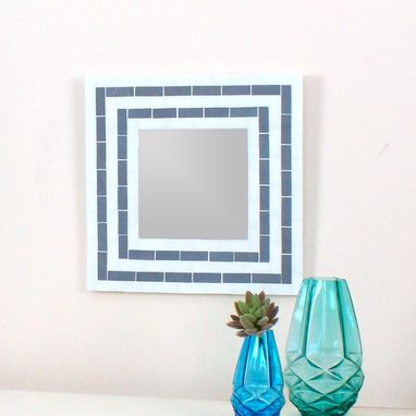 Custom Made Modern Mosaic Decorative Wall Mirror