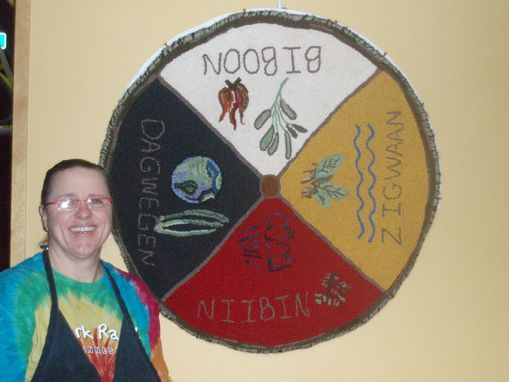 Custom Made Ojibwe Medicine Wheel