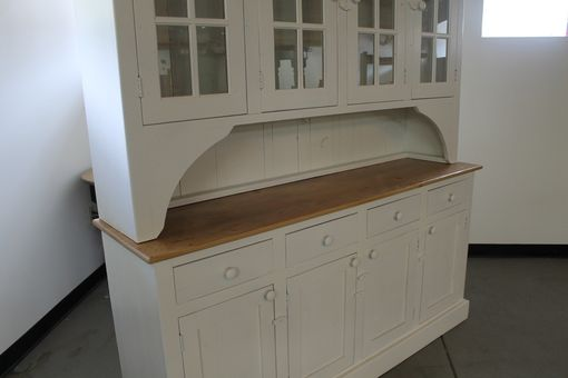 Custom Made Small Farmhouse Desk In Slate Finish