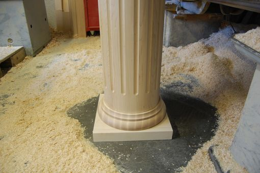 Custom Made Architectural Maple Column