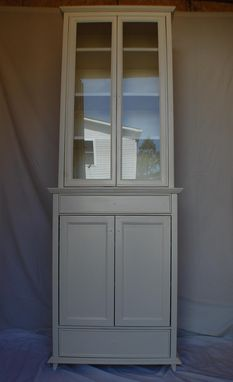 Custom Made Mountain Home Style China Cabinet
