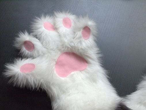 Custom Made Fur Gloves