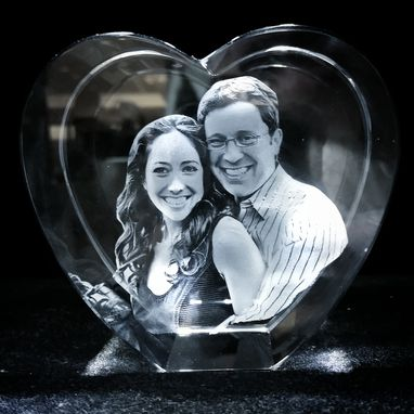 Custom Made 3d Photo Crystals