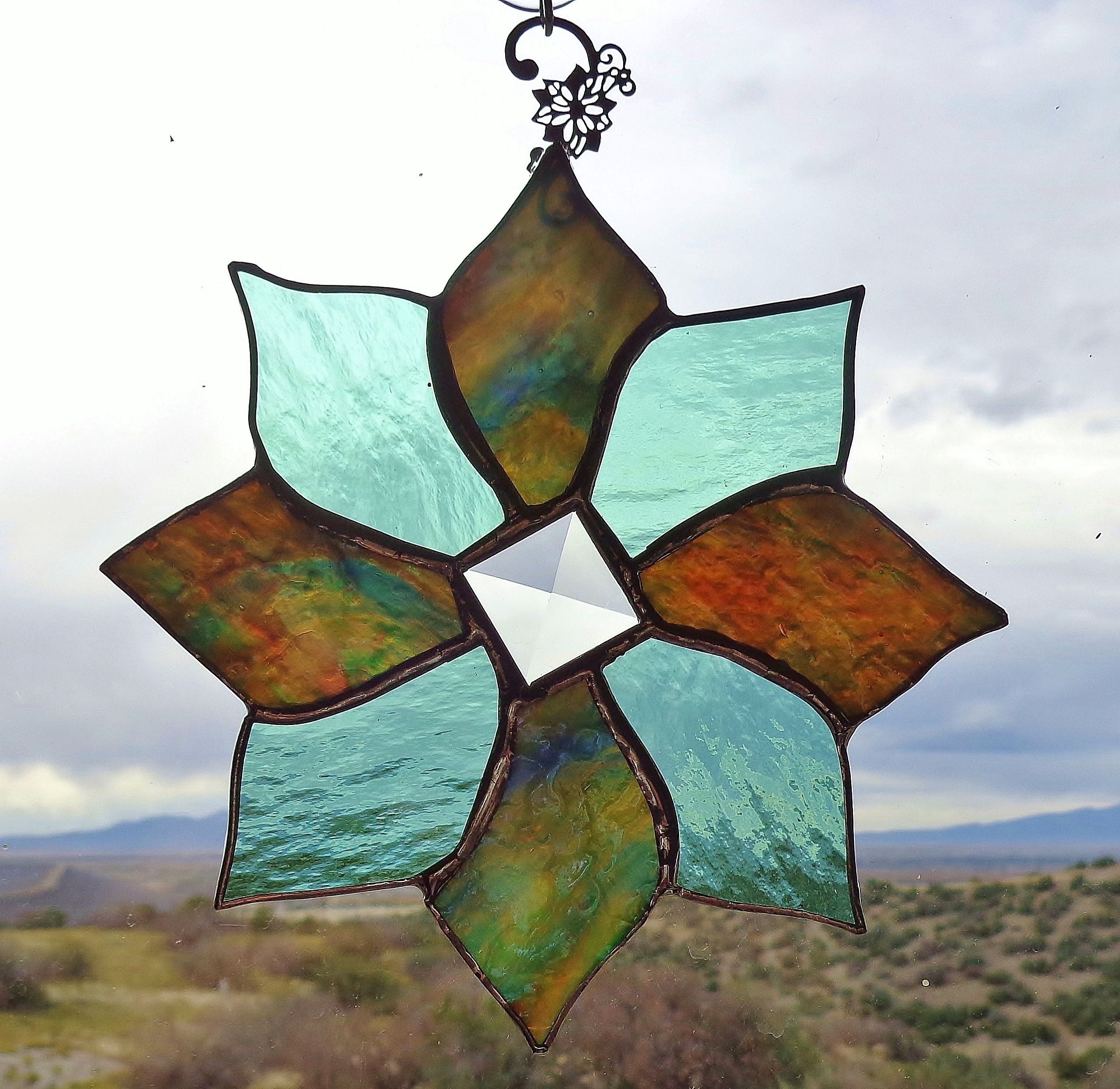 Buy Hand Made Stained Glass Ornaments Made To Order From