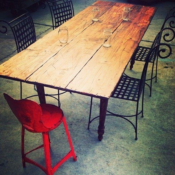 Custom Made Folding Farm Table