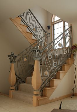 Custom Made 3- Story Railing System