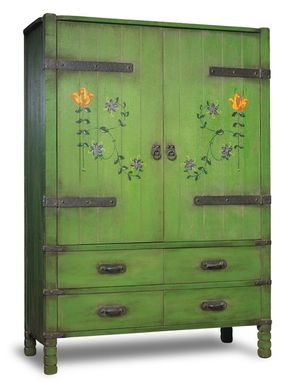 Custom Made Monterey Armoire