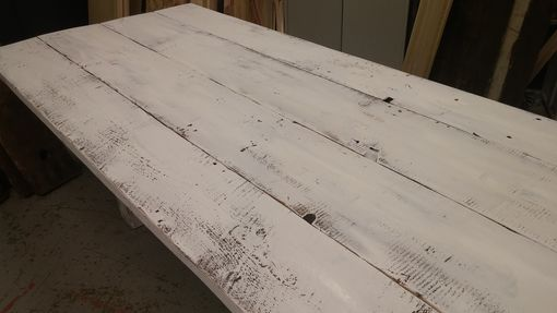 Custom Made French Farm Dining Table, French Country Table, Reclaimed Wood Table, Farmhouse Table