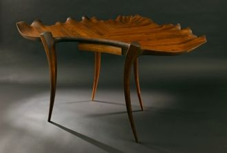 Custom Made Handel Leaf Desk