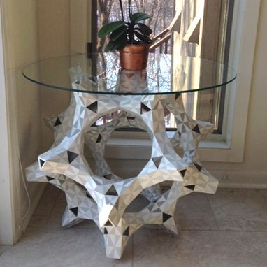 Custom Made Truncated Dodecahedron Table