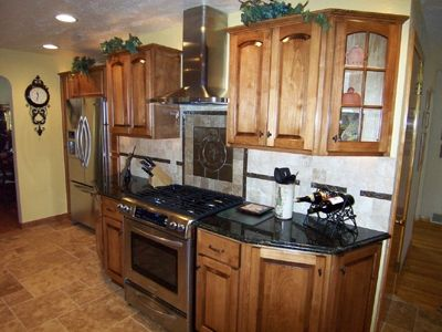 Custom Made Tuscan Maple Kitchen