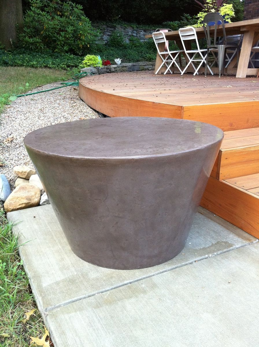 Custom Handmade Concrete Coffee Table By Concrete Zen