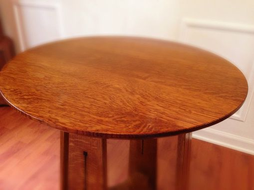 Custom Made Craftsman Round Table